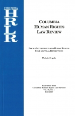 Local governments and human rights: some critical reflections.